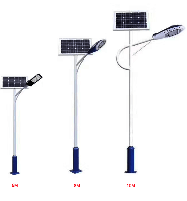 solar lights pole
