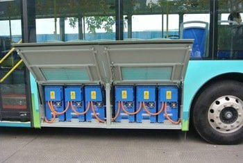 Electric Bus Lithium Battery 580v 600a