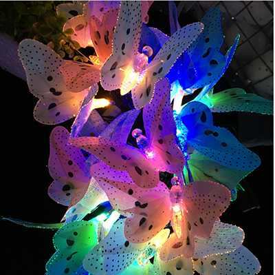 Solar Butterfly Light
