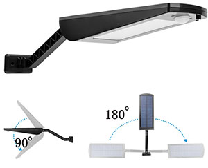 Adjustable Solar Motion Light