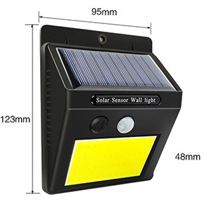 Cob Solar Wall Light Single Head