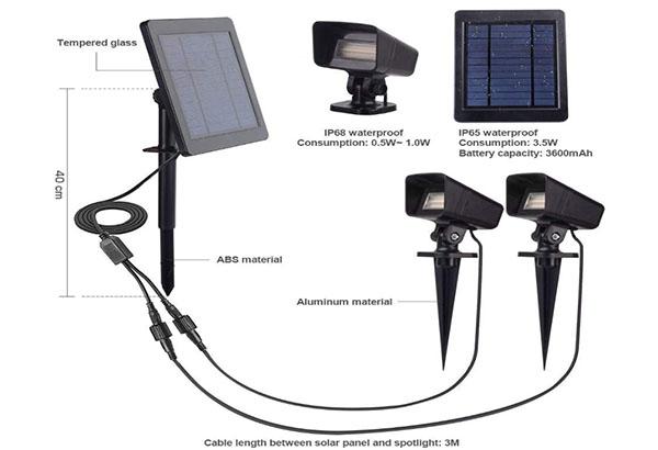 Garden Solar Spotlight 1