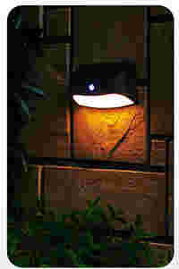 Modern Minimalist Solar Motion Sensor Wall Light 2