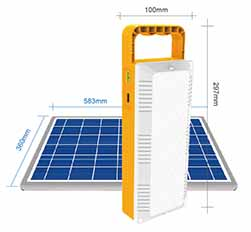Modular Solar Powered Rechargeable Led Work Light Sp Work Solar 3