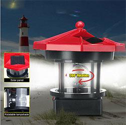 Outdoor Solar Lighthouse Sp S Decoration 2