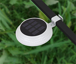 Solar Motion Fence Light 2