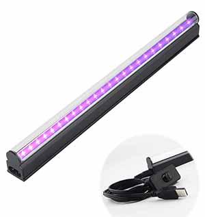 10w 1ft T5 Portable Uv Led Black Light Tube