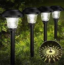 Creative Glass Solar Path Lights 1