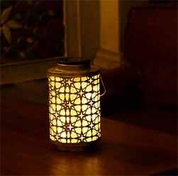 Cylindrical Solar Lantern 2