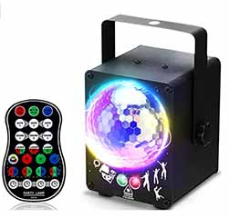 Led Dj Disco Lights With Sound Activated