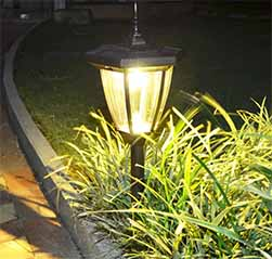 Retro Solar Path Light