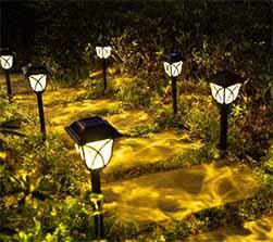 Retro Landscape Pathway Light