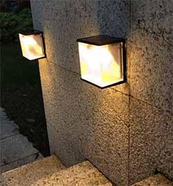 Solar Deck & Wall Light
