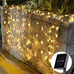 Solar Mesh String Light