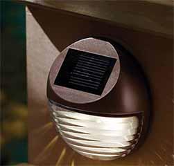 Solar Powered Wall Lights