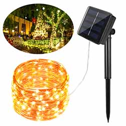 Solar Rope String Light