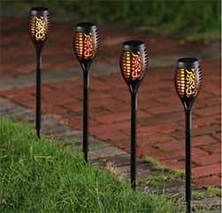 Torch Solar Path Light