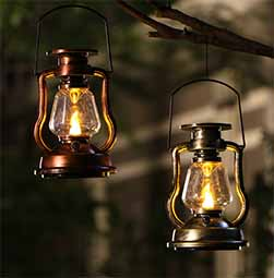 Vintage Solar Lantern