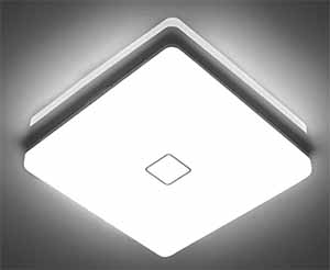 24w 12.6inch Square Led Ceiling Light Flush Mount