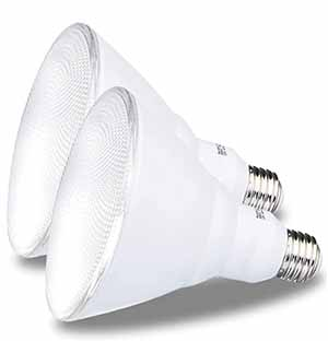 5000k Daylight Outdoor Par38 Led Flood Light Bulb, 90w Equiv.
