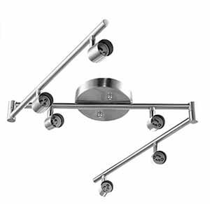 Light Adjustable Dimmable Track Lighting Kit