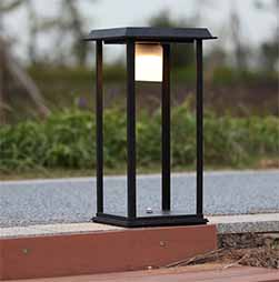 Modern Minimalist Solar Post Lights Sp Solar Mm 5