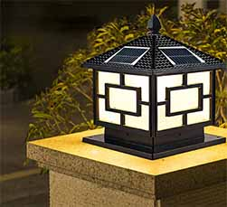 Palace Solar Post Light Sp Solar Pa 1