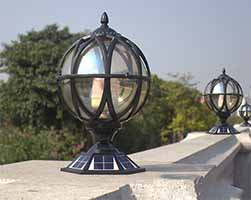 Palace Solar Post Light Sp Solar Pa 3