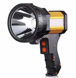 Rechargeable Spotlight 6000 Lumens Super Bright Flashlight